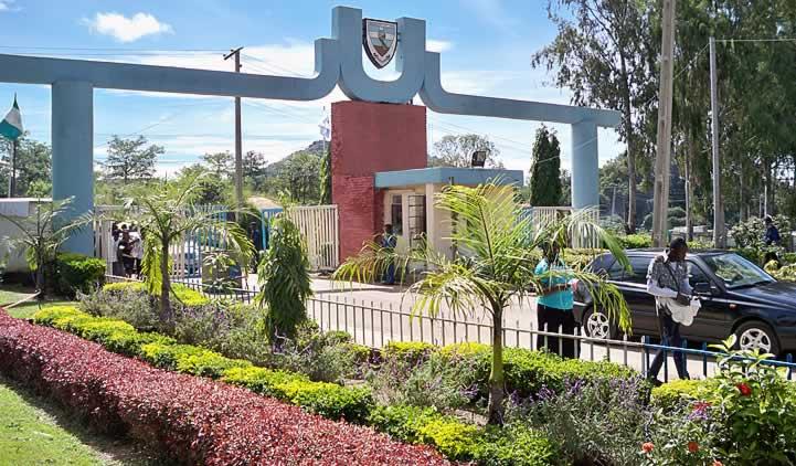 University of Jos, Main Campus entrance gate.