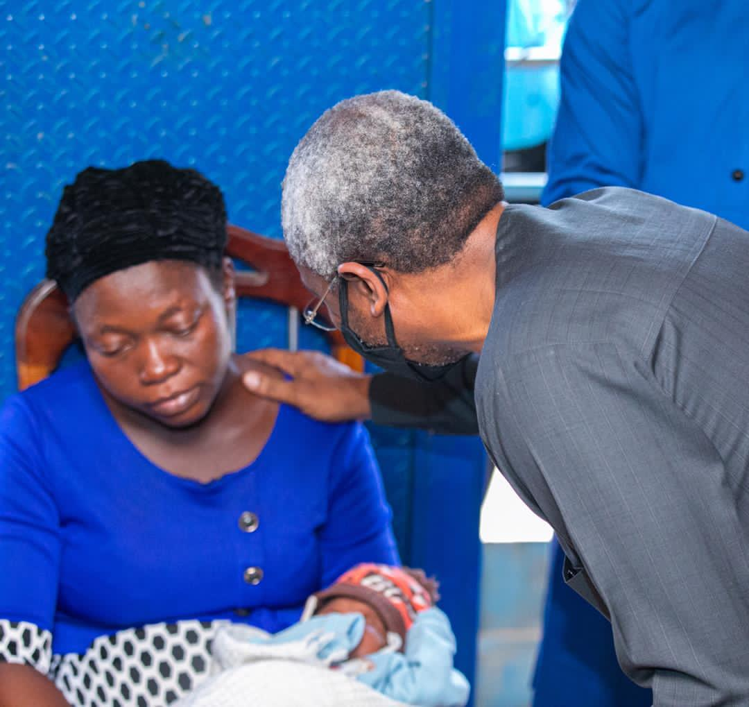 Gbajabiamila visits family of vendor shot by security aide