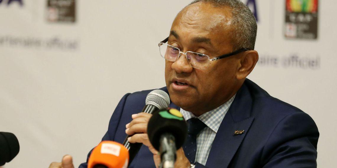 Confederation of Africa Football president, Ahmad Ahmad [PHOTO CREDIT: Goal.com]