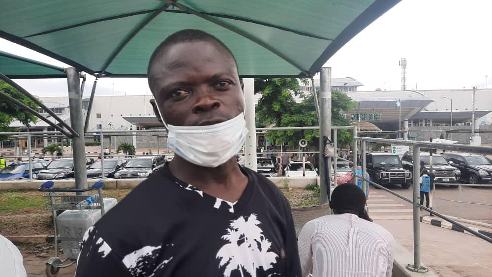Mr. Ndubuisi the taxi driver