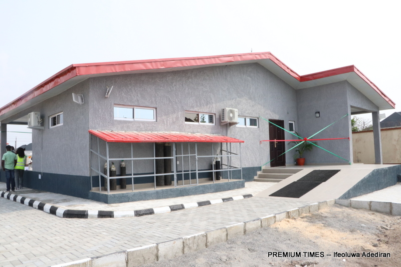 Lagos govt commissions COVID-19 triage and oxygen centre