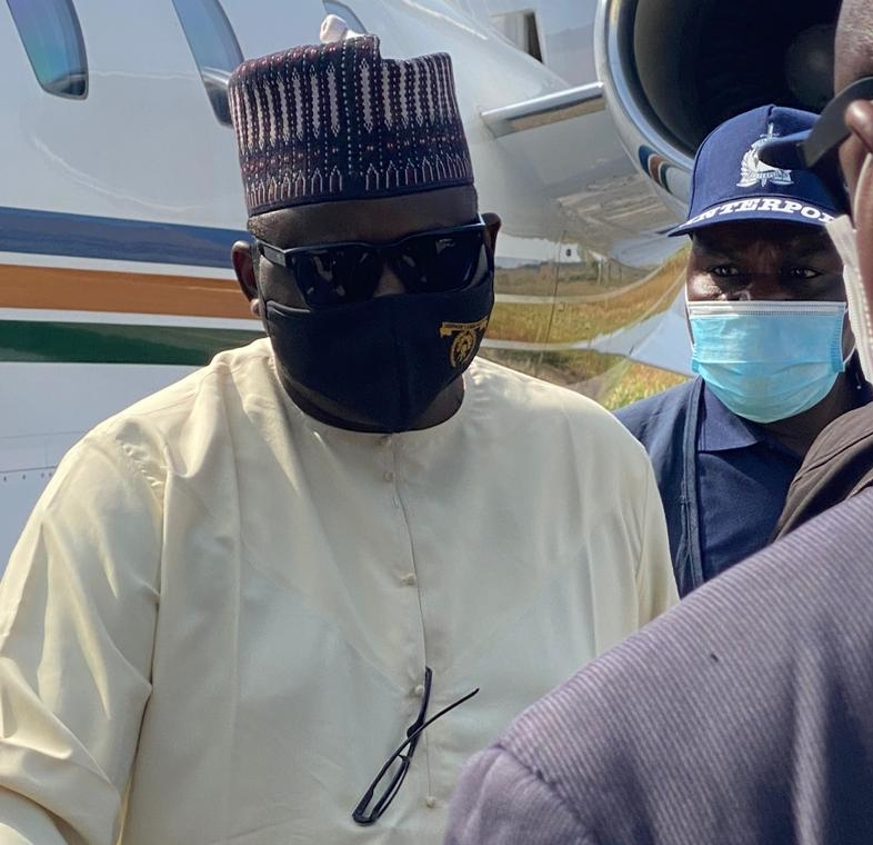 Fugitive ex-pension boss, Maina, appears in court after Niger arrest