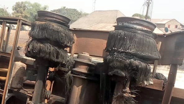 Tanker explosion in Kwara.