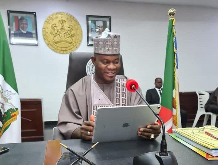 Kogi state governor, Yahaya Bello (PHOTO CREDIT: @BELLOCENTRE)