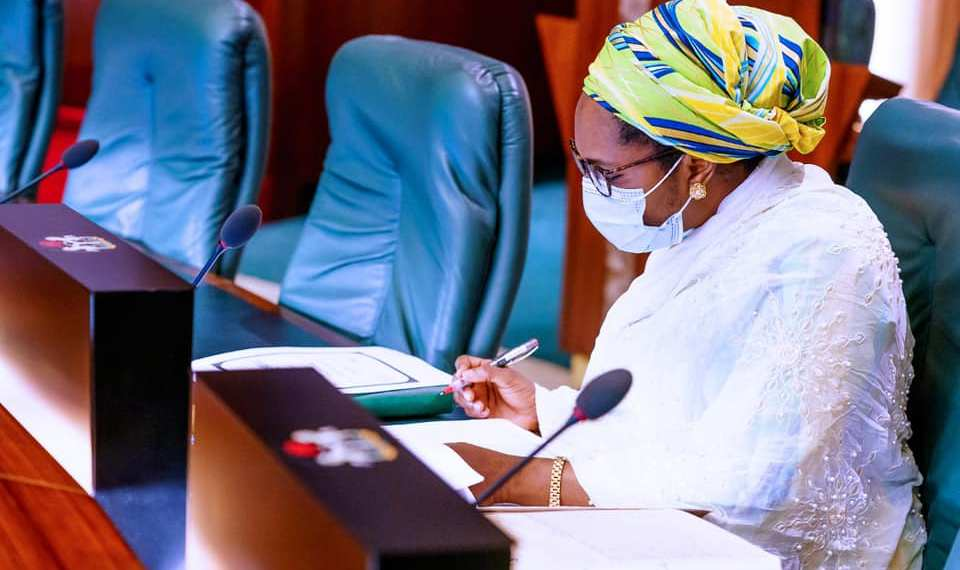 Minister of Finance, Zainab Ahmed [PHOTO CREDIT: @ZShamsuna]