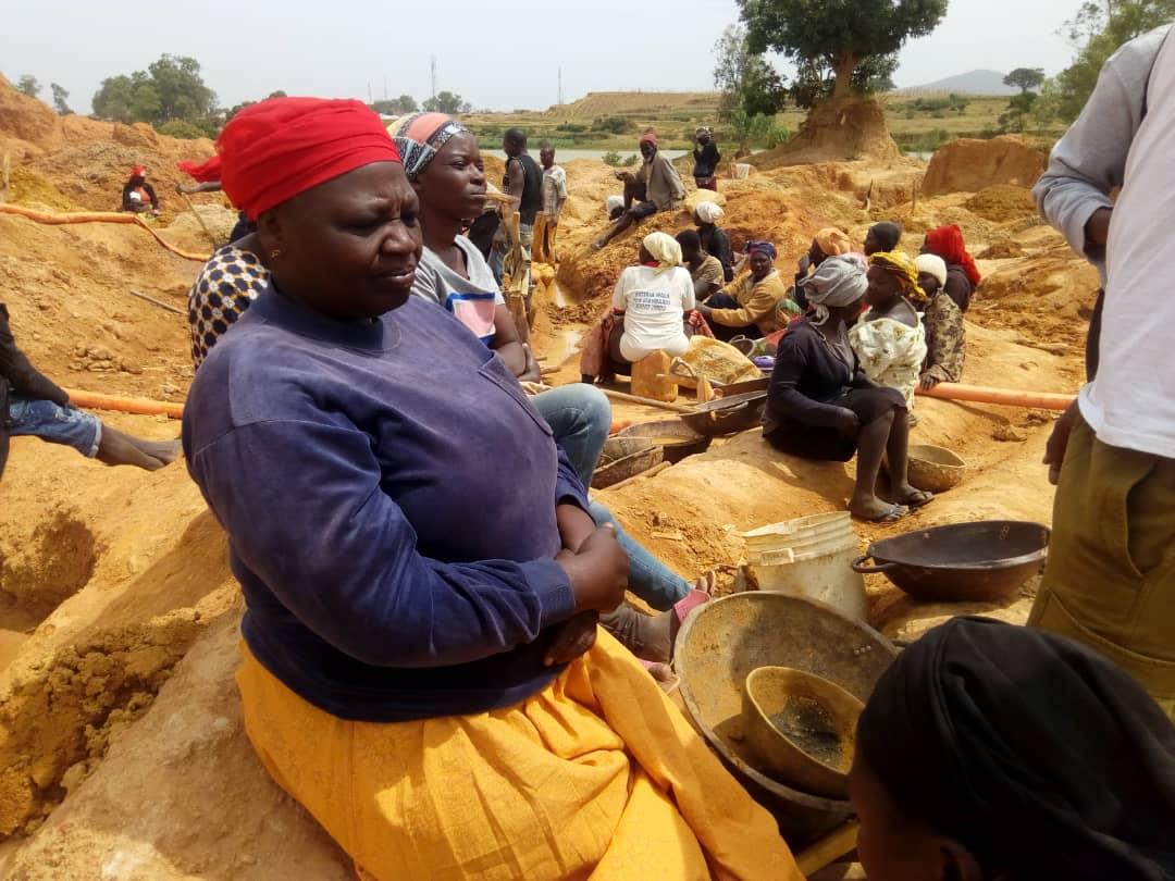 Female artisenal miners