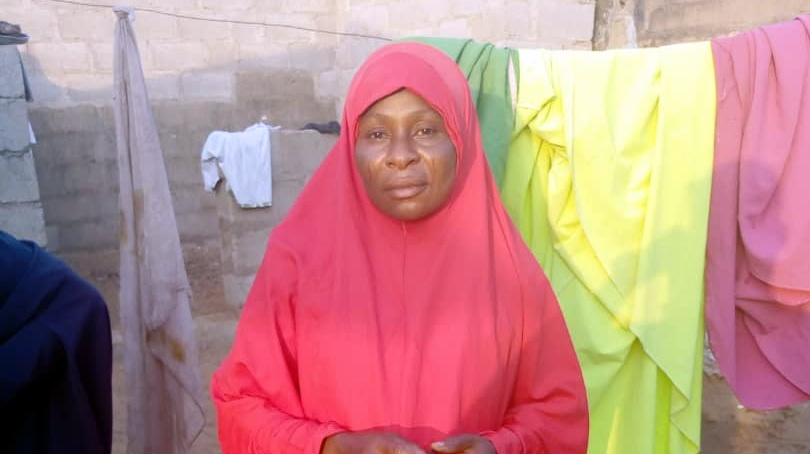 Hadiza Isa, the deceased mother (Credit: James Aparshe)