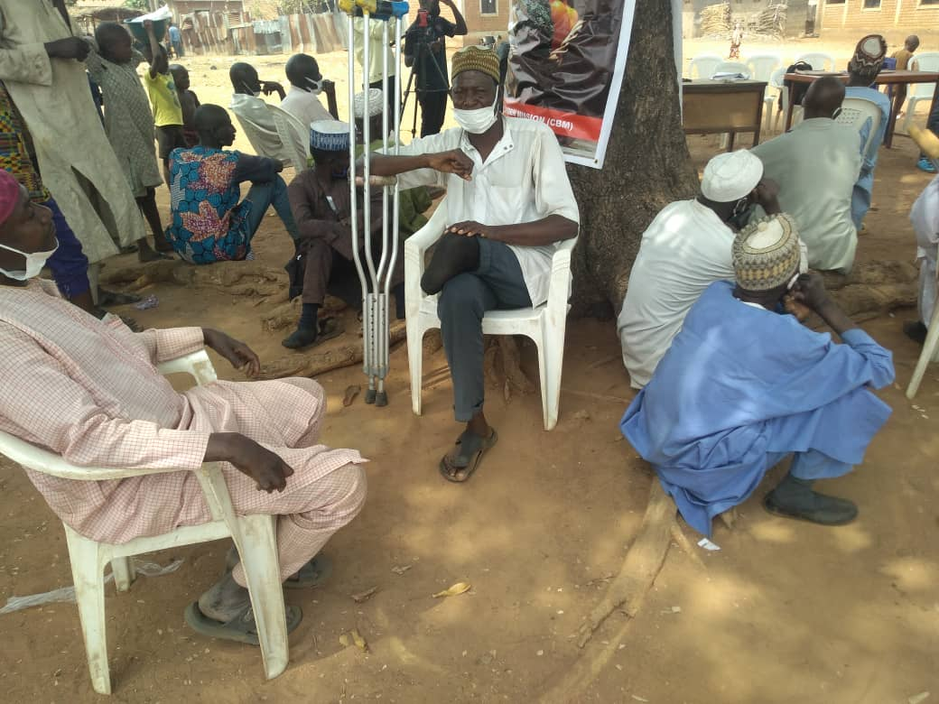 A cluster of lepers in Alheri