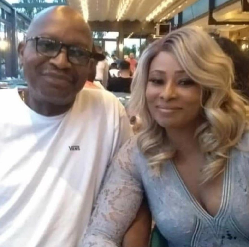 Adetokunbo Daramola and his alleged mistress, Abisoye Shitta-Bey