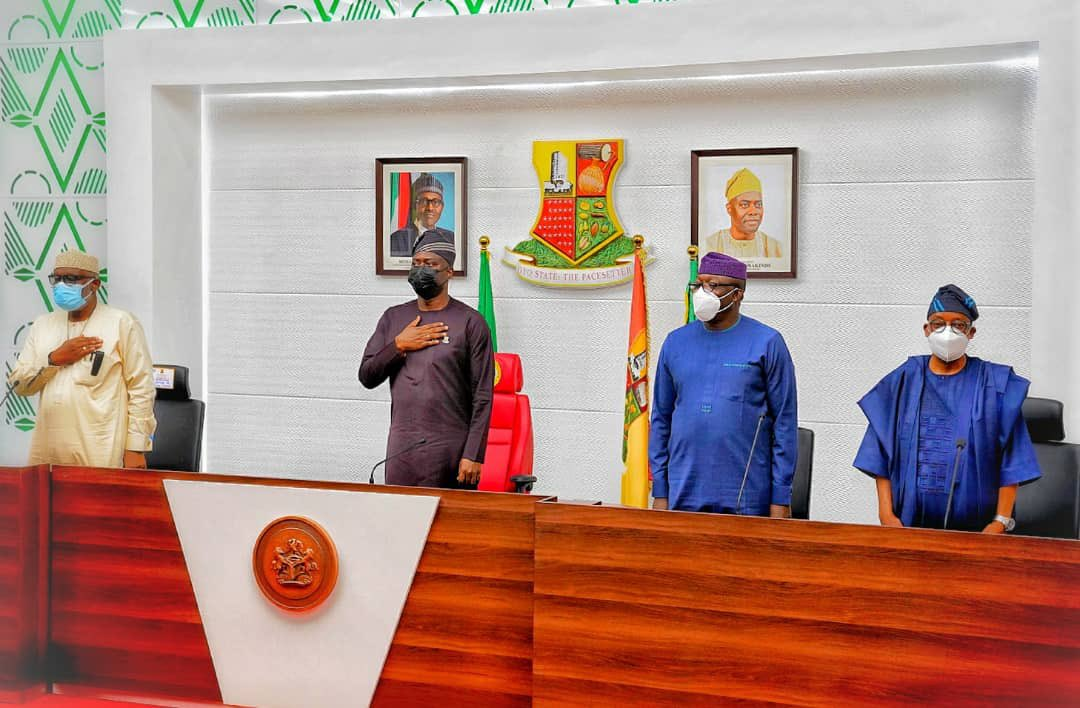 South-West Governors[PHOTO CREDIT: @kfayemi]