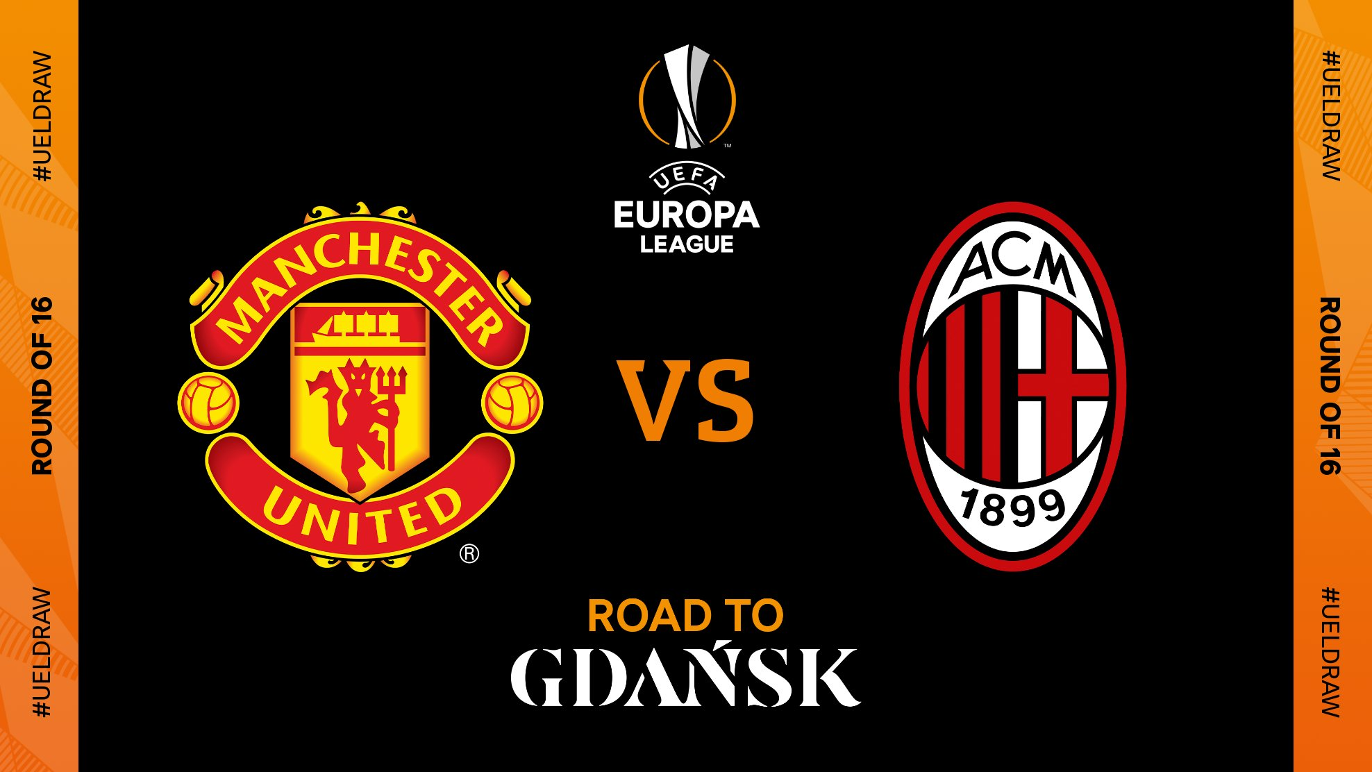 JUST IN: Europa League: Manchester United draw AC Milan in Round of 16