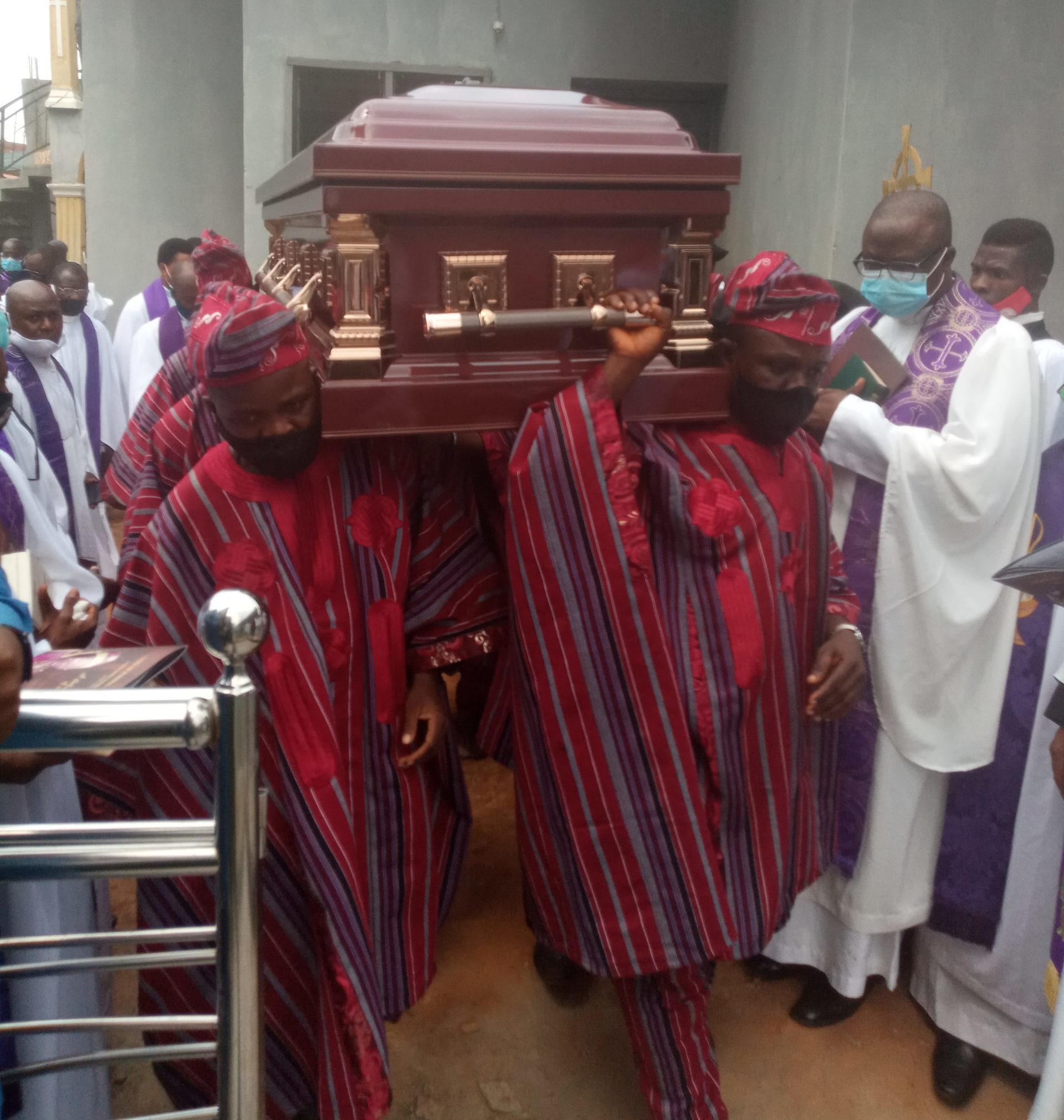 Ex-Unilag VC, Oye Ibidapo-Obe buried in Ilesa hometown