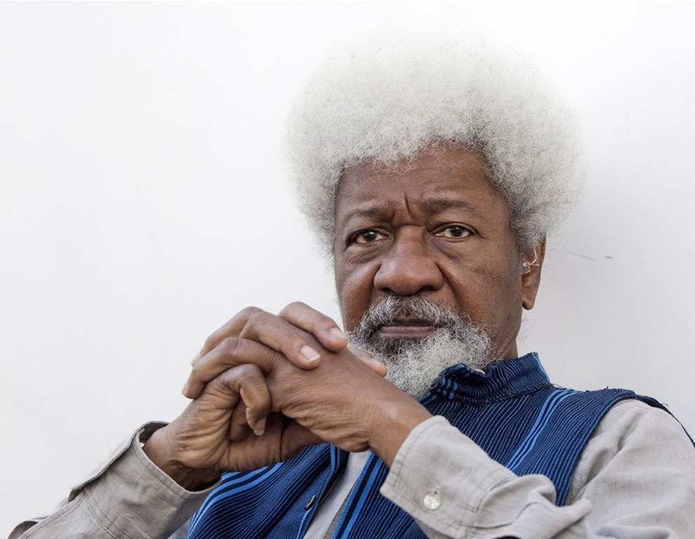 Professor-Wole-Soyinka on cows