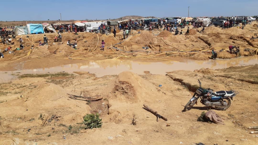 Shendu mining site
