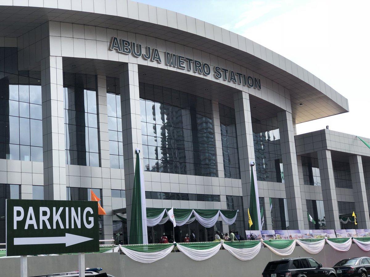 Abuja Metro Railway Station