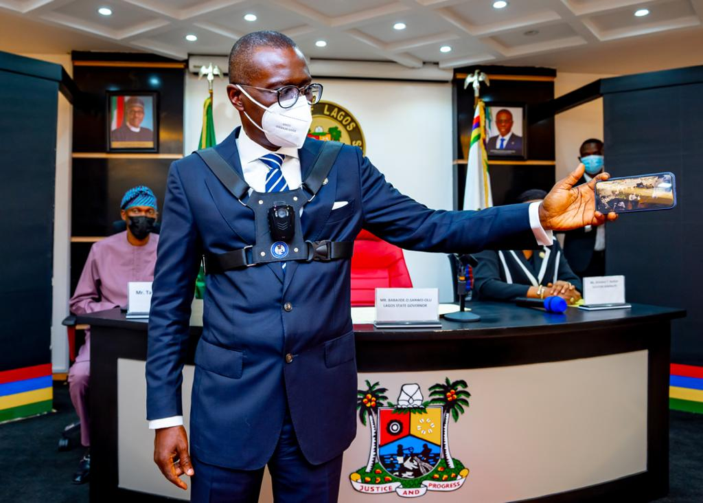 Babajide Sanwo-Olu, Lagos state governor. [PHOTO CREDIT: Sanwo-Olu Twitter handle]