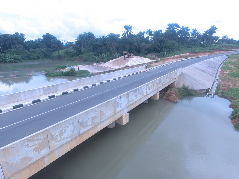 One of the road constructed by VKS Construction Ltd