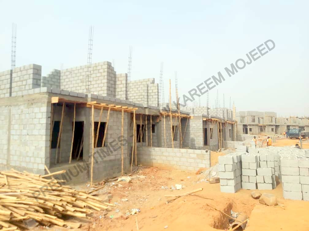 Uncompleted units at Earthpoint and Modern Shelter estate limited, Dape district Life camp-001