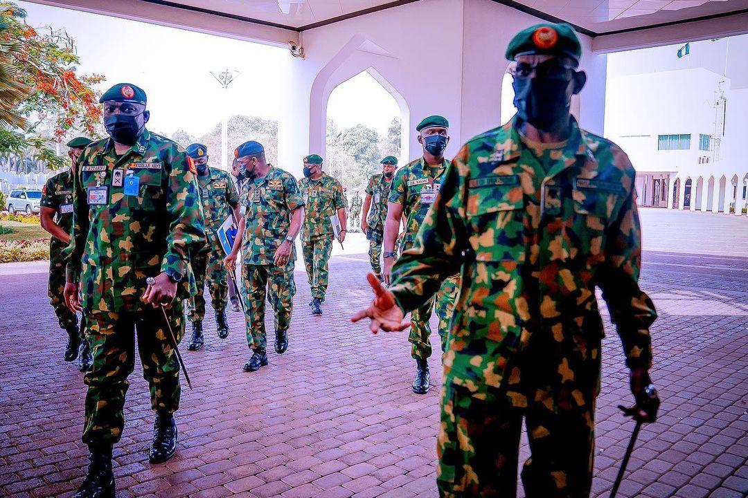 Buhari presides National Security Council Meeting