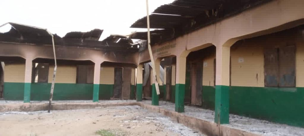 the burnt primary school