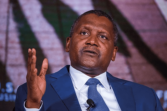 Aliko Dangote, Chairman Dangote Cement