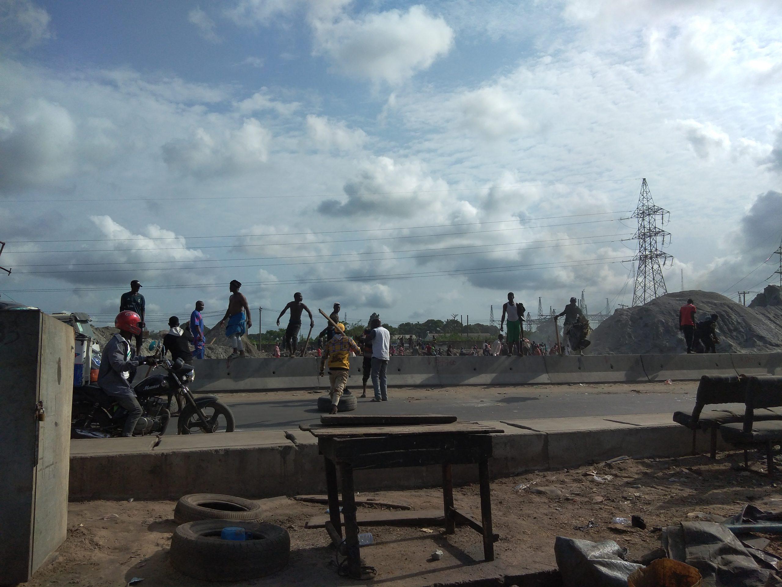 Commuters stranded shops locked as Okada riders NURTW clash in Lagos
