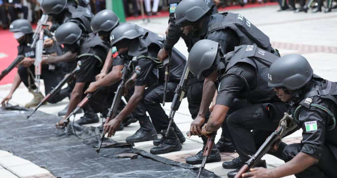 Police embark on show of force in Ibadan | Premium Times Nigeria