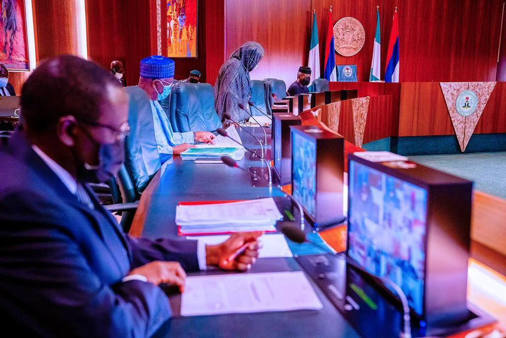 Federal Executive Council (FEC) Meeting [PHOTO CREDIT: @BashirAhmaad]