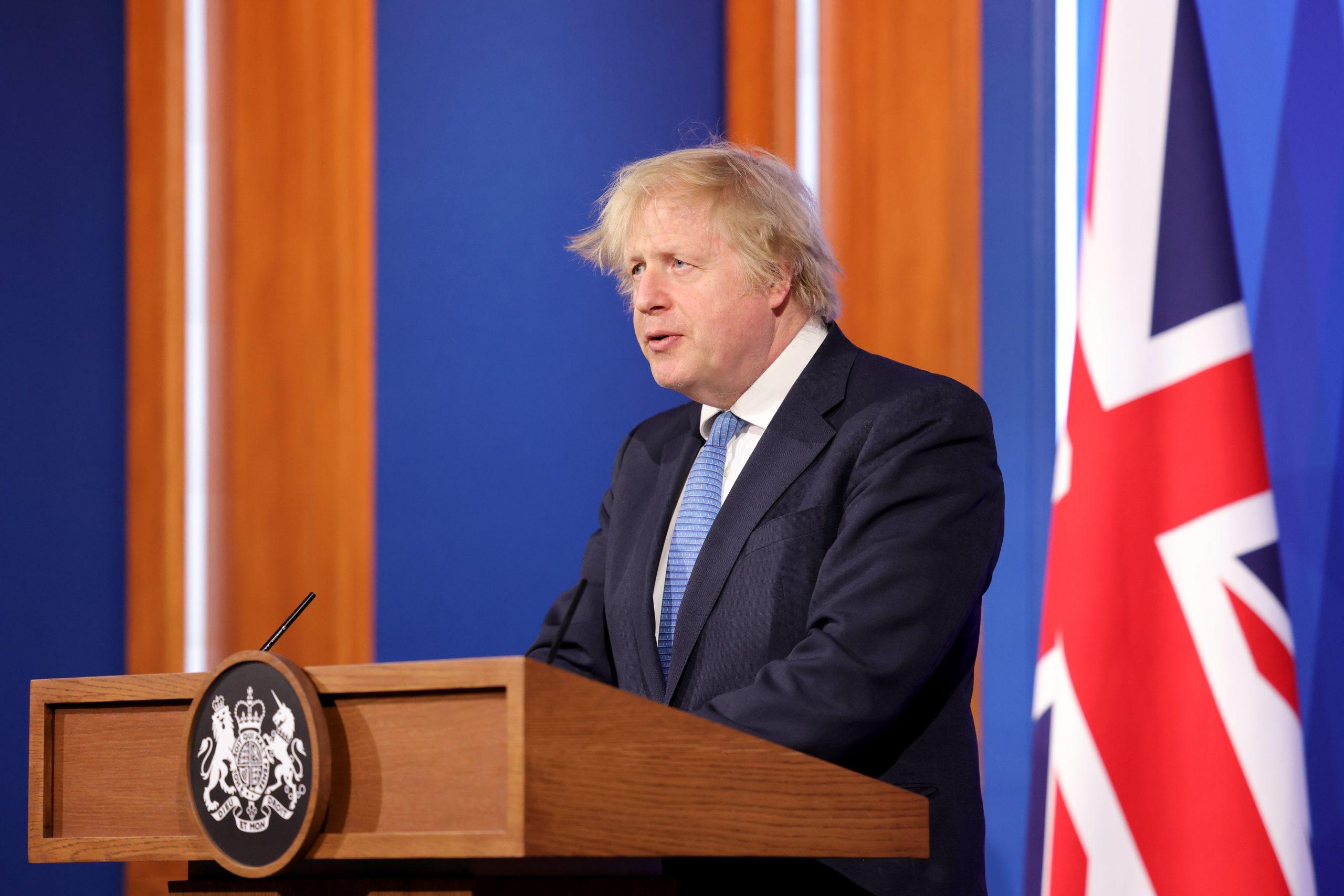 Boris Johnson [Photo Credit: @BorisJohnson]
