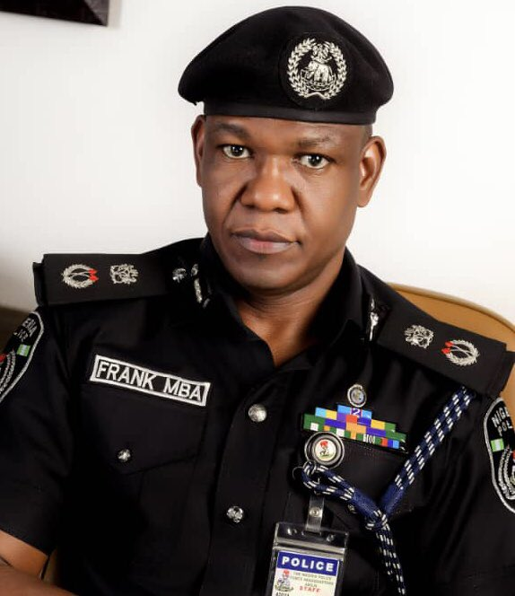 CP Frank Mba [PHOTO CREDIT: @PoliceNG]
