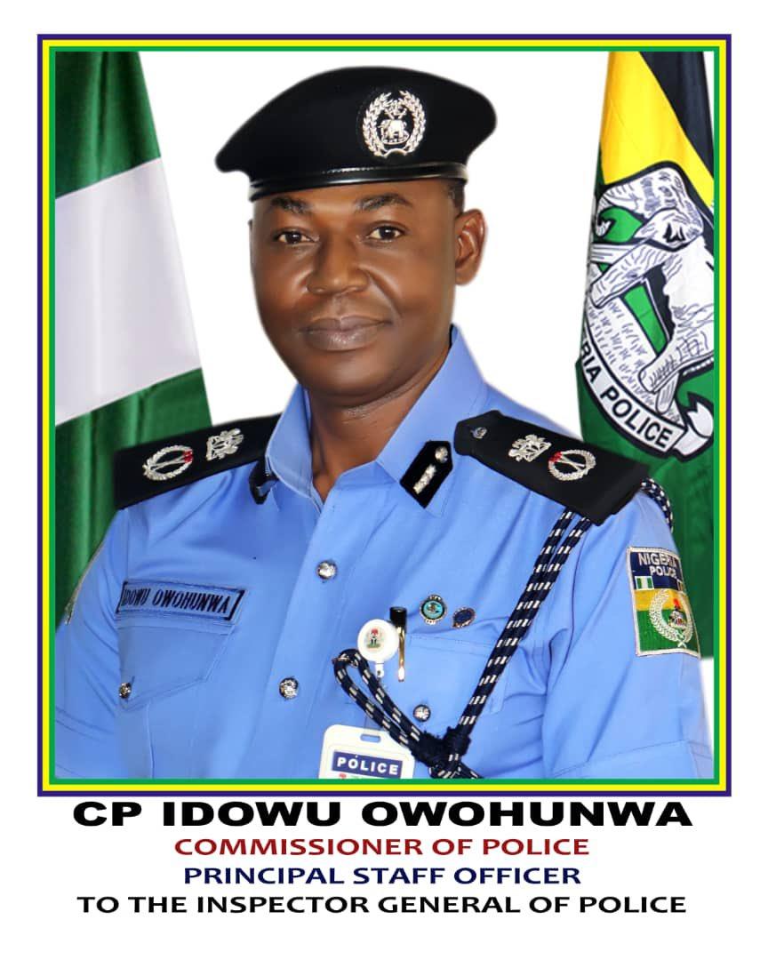 Ag. CP Idowu Owohunwa [PHOTO CREDIT: @PoliceNG]