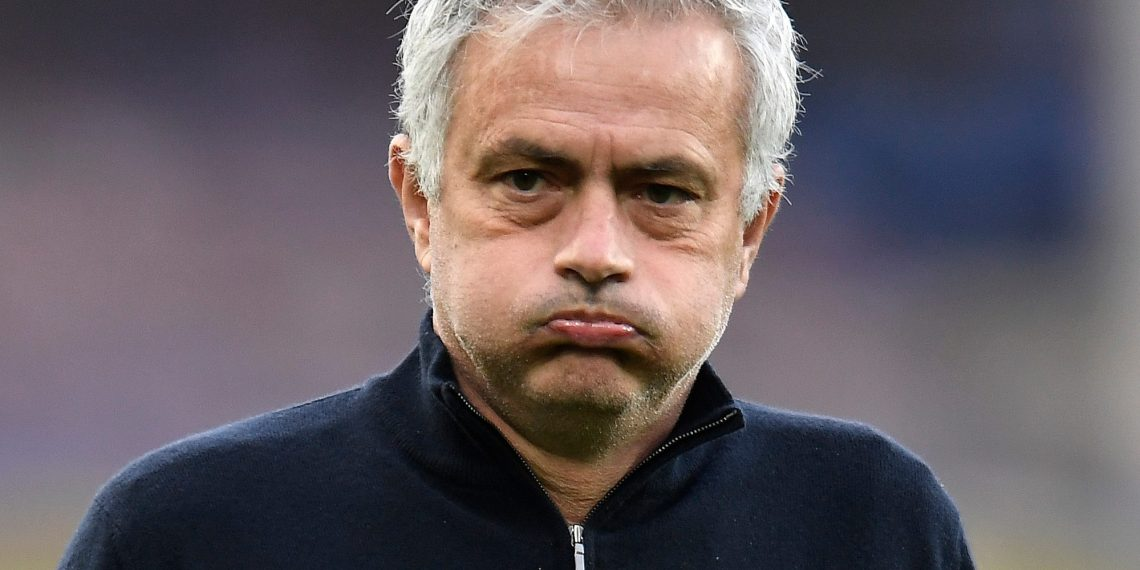 Jose Mourinho [PHOTO: @goal]