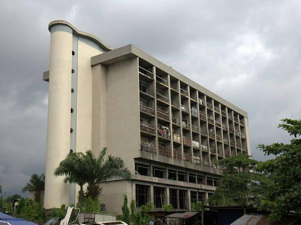Abandoned Enyimba Hotel Building