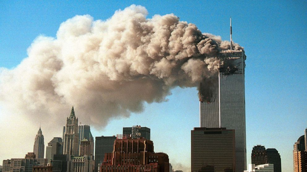 Picture of U.S. terrorism bombing September 9/11. [PHOTO CREDIT: ABC News]