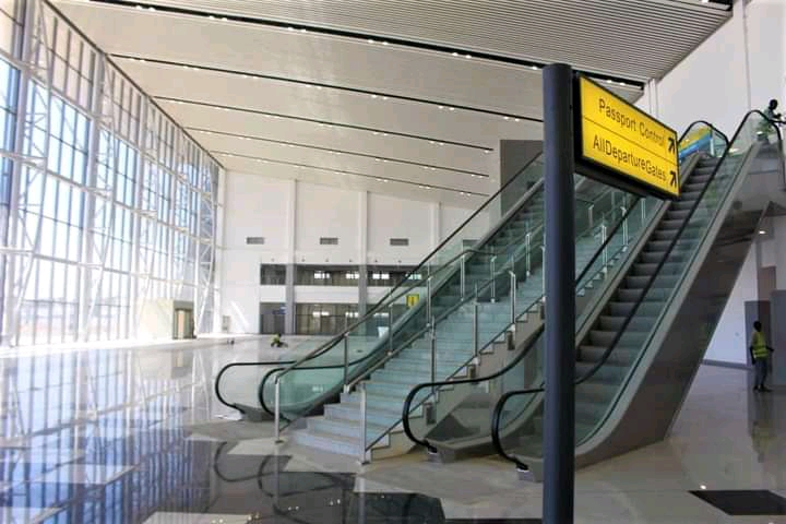 The new terminal of the Malam Aminu Kano international wing
