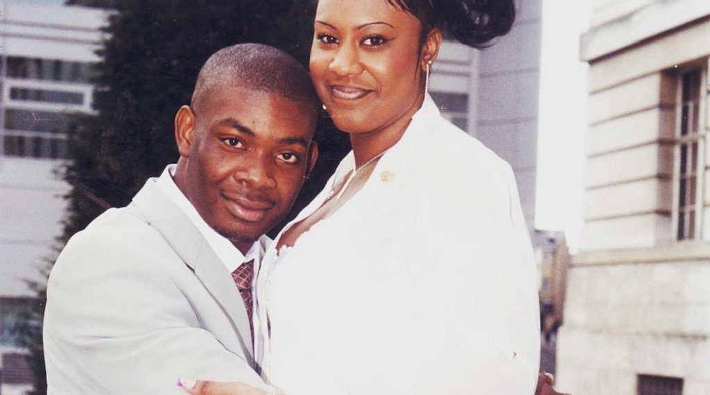 Don Jazzy with Michelle Jackson