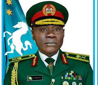 Buhari receives new COAS, Maj. Gen. Farouk Yahaya, at Aso Villa