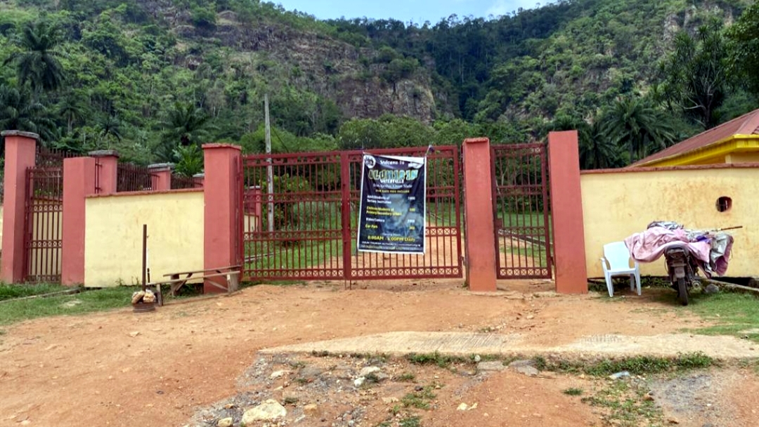 Erin-Ijesha entrance