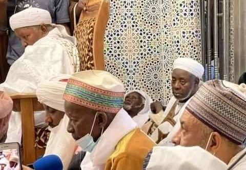 Announcing the appointment of Sanusi as the new Khalifa of Tijjaniya sect in Nigeria