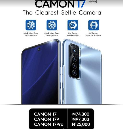 Global premier mobile phone brand, TECNO,