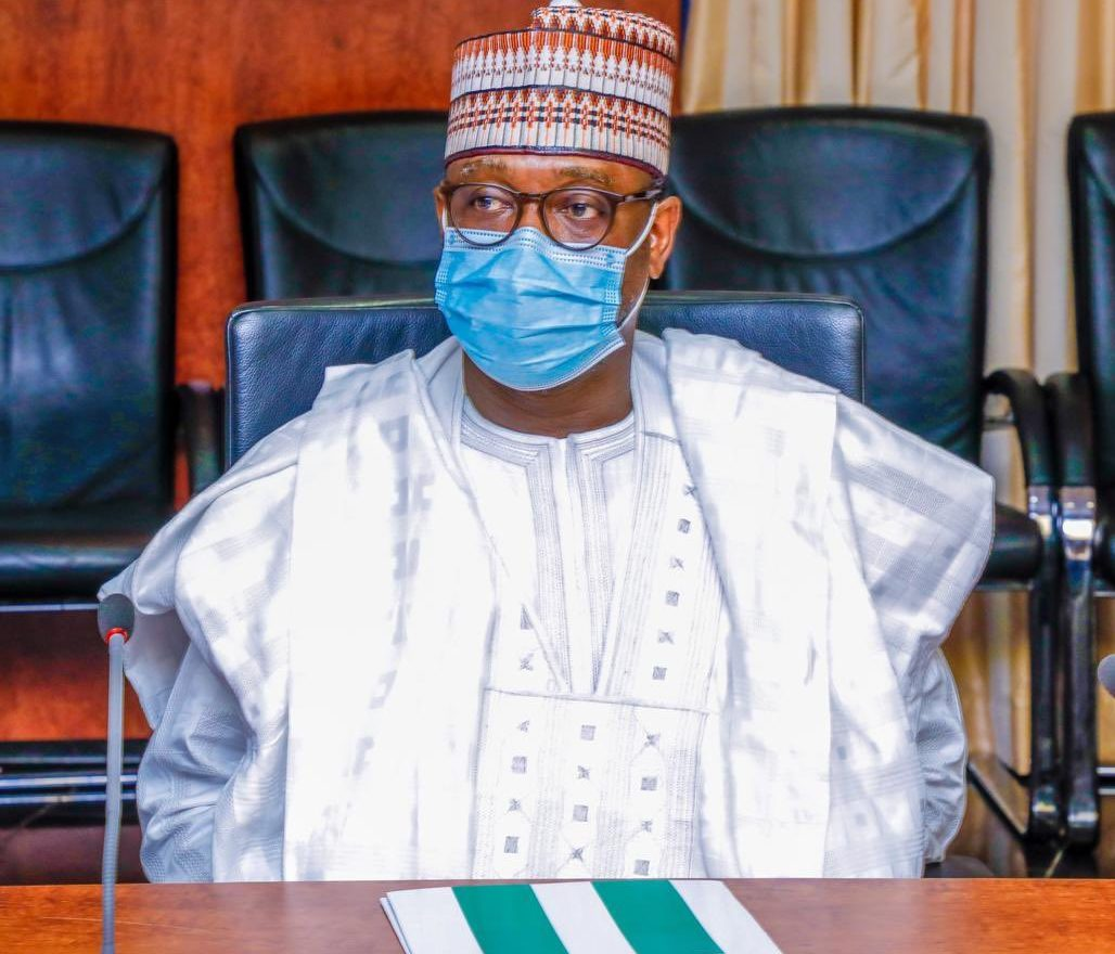 The Governor of Niger-State, Abubakar Sani Bello [PHOTO CREDIT: Official Twitter handle of Mr Bello || @abusbello]