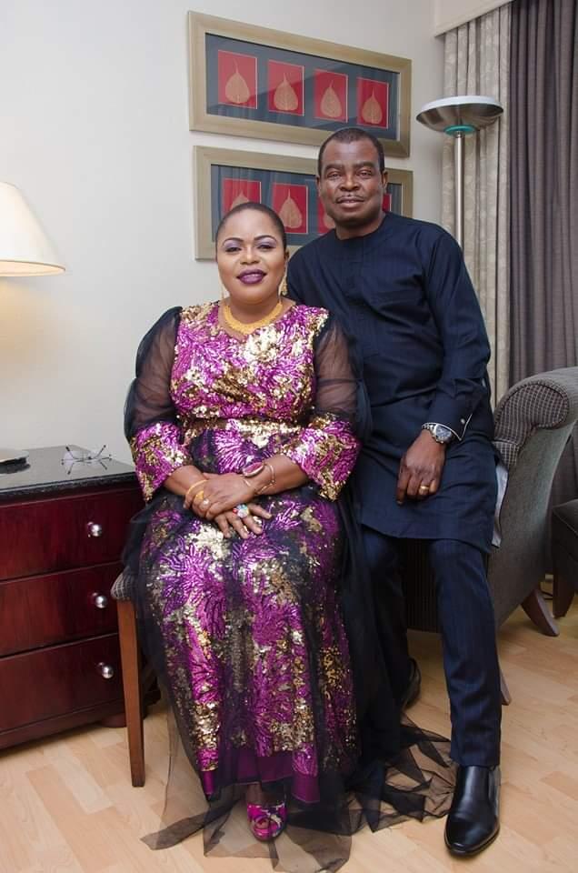 Bamidele Ademola-Olateju and her husband