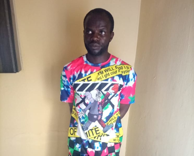 The soldier arrested with 2000 rounds of ammunition, Lance Corporal Sani Mohammed
