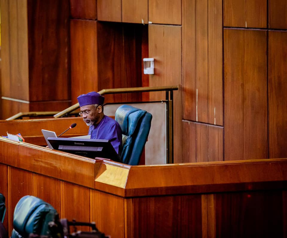 Speaker of the House of Representatives, Femi Gbajabiamila [PHOTO CREDIT: @FemiGbajabiamila]