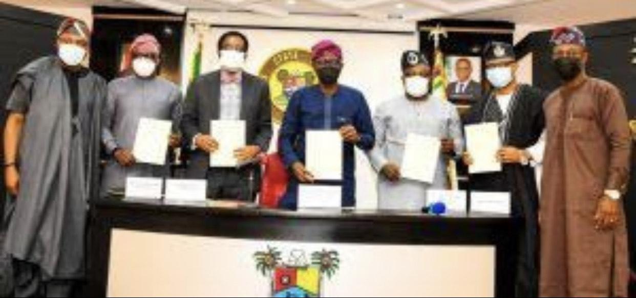 Babajide Sanwo-Olu signing bills into law