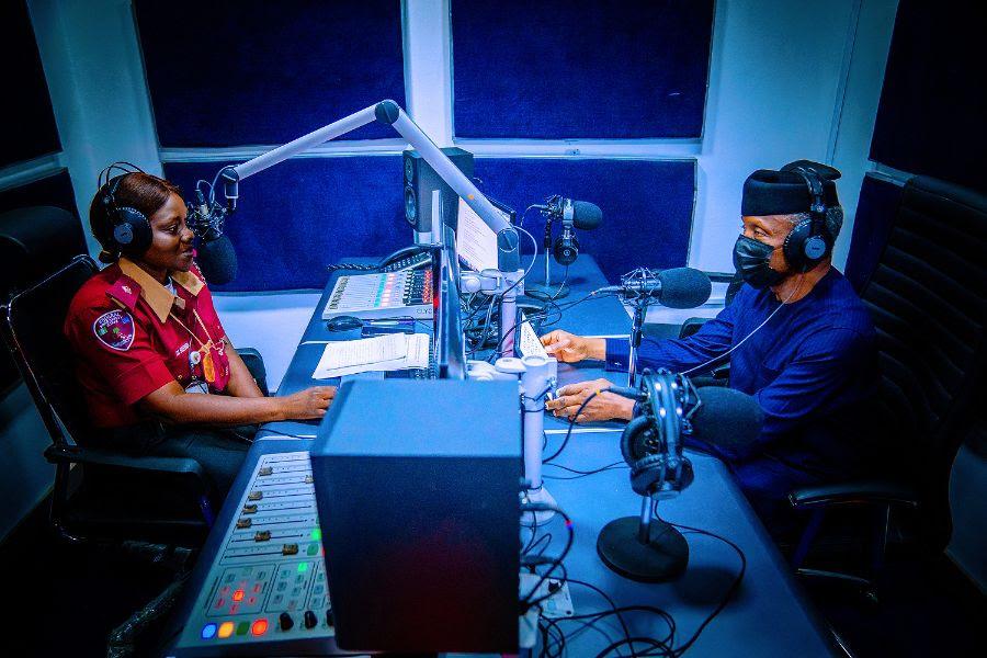 Vice President Yemi Osinbajo SAN launches the FRSC Traffic