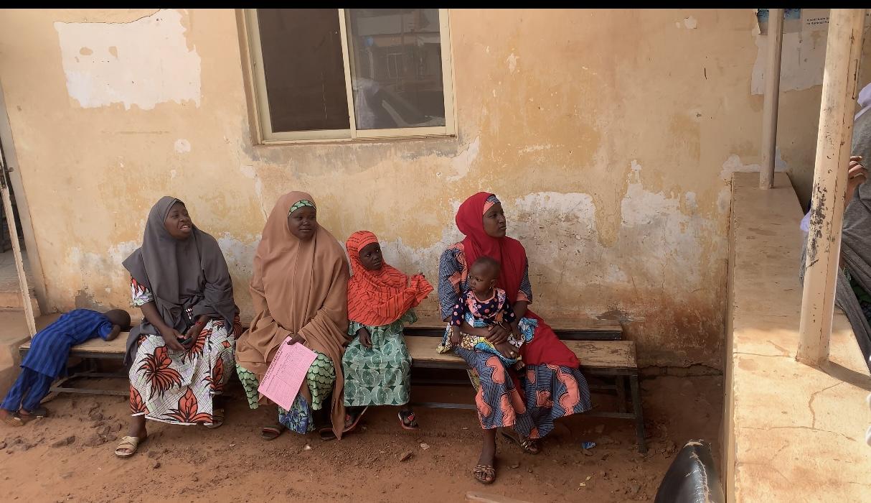 Hauwa Mohammed (extreme left)
