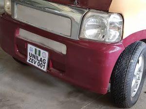 UNILAG zero emission vehicle