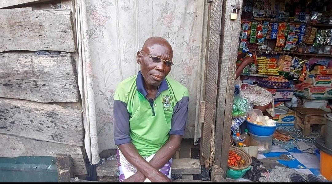Abiodun Ajimuda, a 78-year-old man living at Otto-Ilogbo