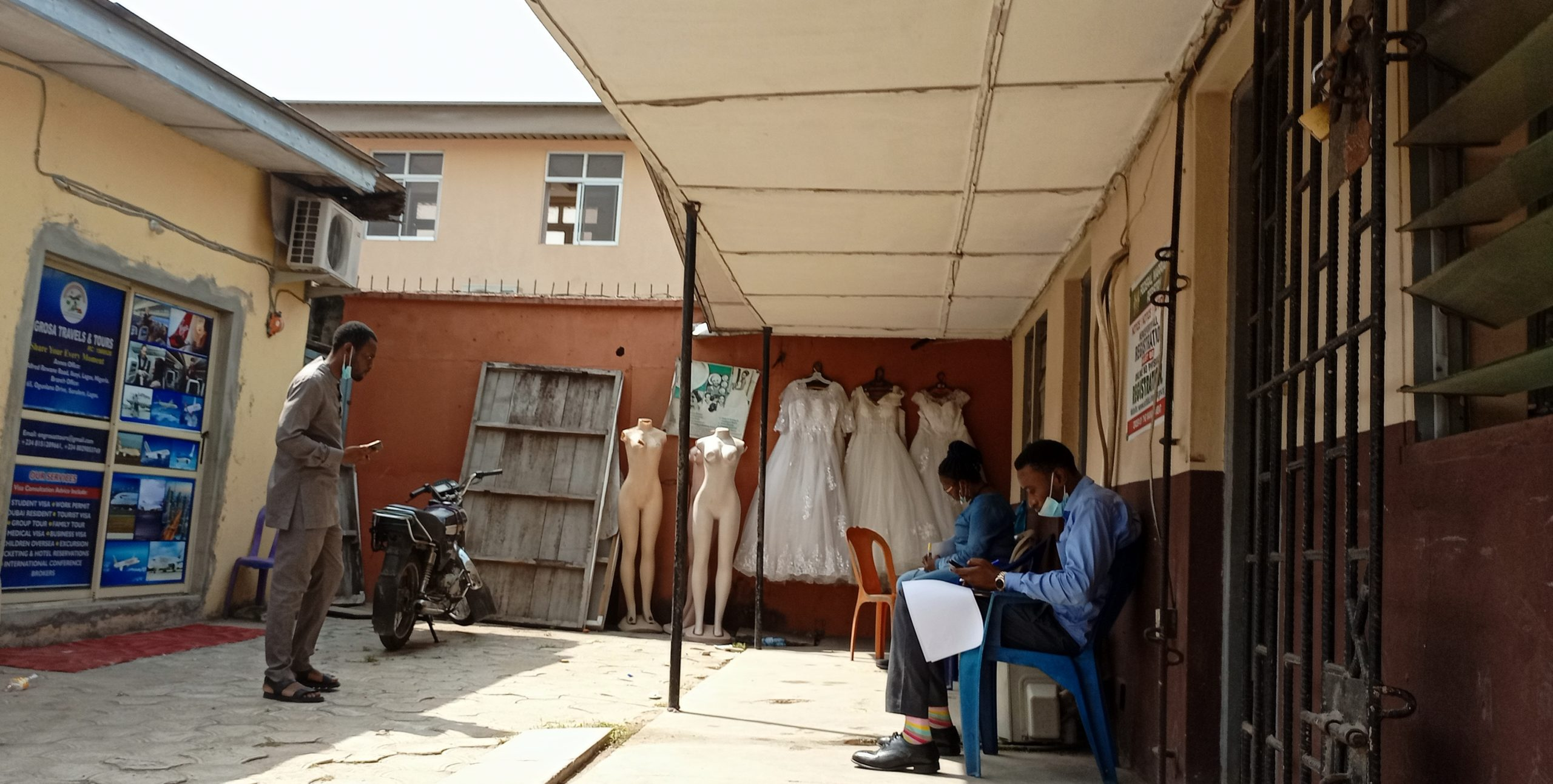 Front view of the office where marriage registration is done at Ikoyi (2)